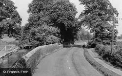 Cotton Mill Lane c.1955, Langwith