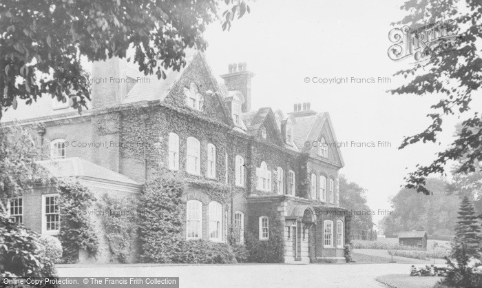 Photo of Langwith, Langwith Lodge c.1950