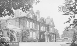 Langwith Lodge c.1950, Langwith