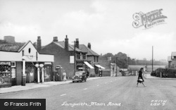 Main Street c.1950, Langwith