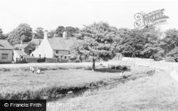 The Village Green c.1955, Langwith