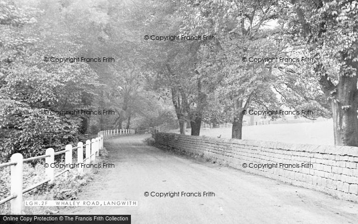 Photo of Langwith, Whaley Road c.1950