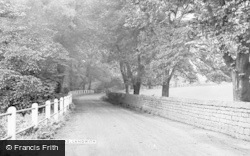 Whaley Road c.1950, Langwith