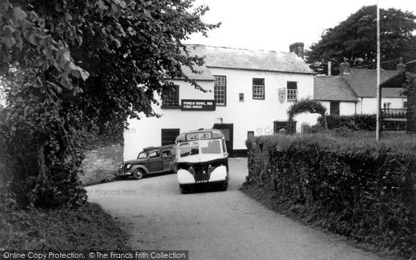 Lanreath, The Punch Bowl Inn c1955