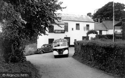 Lanreath, The Punch Bowl Inn c.1955