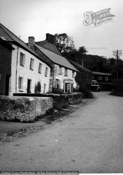 Photo of Lanreath, The Village c.1955
