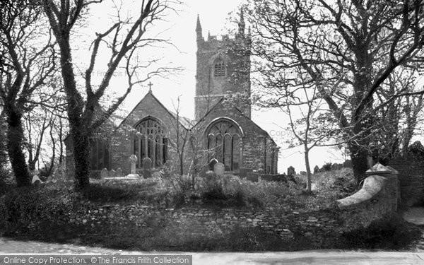 Photo of Lansallos, The Church 1901