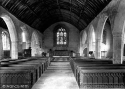 Lanteglos-By-Fowey, Church Interior 1908