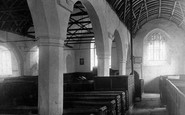 Lanteglos, the Church interior 1901