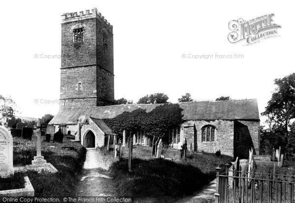 Photo of Lanteglos By Fowey, The Parish Church 1901