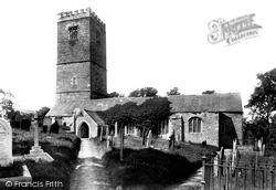 Lanteglos-By-Fowey, The Parish Church 1901