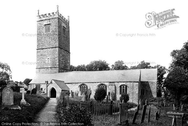 Photo of Lanteglos By Fowey, The Parish Church 1913