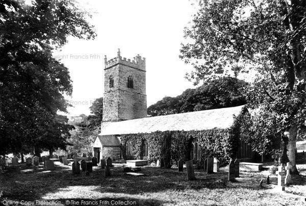 Lanteglos, the Church 1894