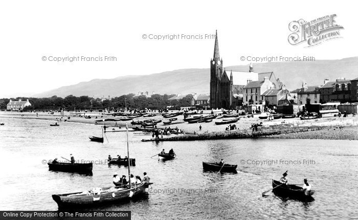 Photo of Largs, The Church Of St Columba 1897