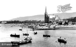 Largs, The Church Of St Columba 1897