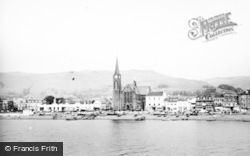Largs, The Church Of St Columba c.1950