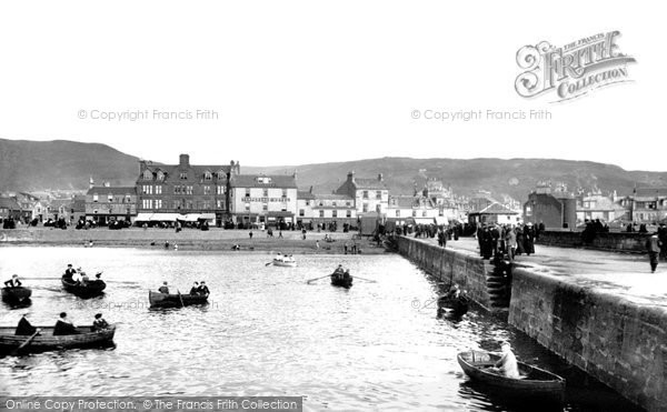 Photo of Largs, The Pier 1897