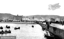 Largs, The Pier 1897