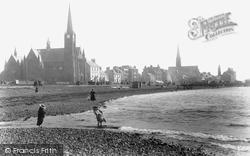 Largs, The Shore 1897