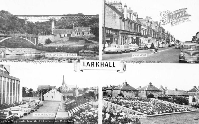 Photo of Larkhall, Composite c.1960