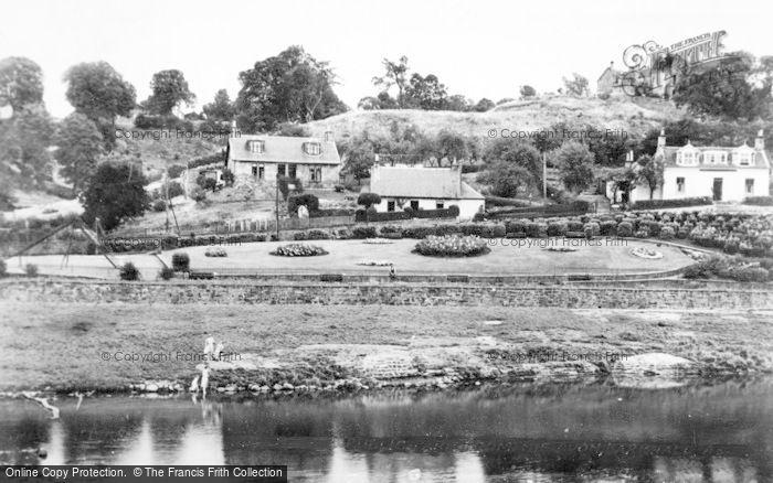 Photo of Larkhall, Milleugh Public Park From The Avon c.1950