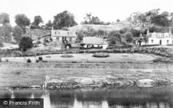 Larkhall, Milleugh Public Park From The Avon c.1950