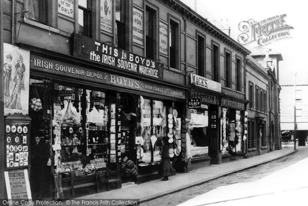 Photo of Larne, Boyd's, Main Street 1900