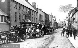 Larne, Excursion Parties, King's Arms Hotel c.1905