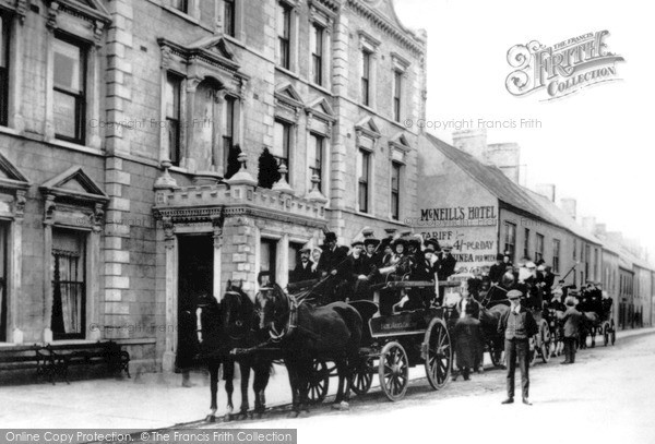 Photo of Larne, Main Street c.1890