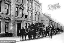 Larne, Main Street c.1890