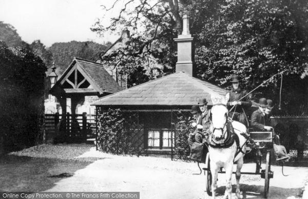 Photo of Larne, Parish Church c.1890