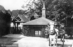 Larne, Parish Church c.1890