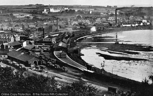 Photo of Larne, The Harbour c.1900