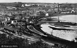 Larne, The Harbour c.1900