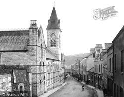 Larne, Town Hall, Cross Street 1900