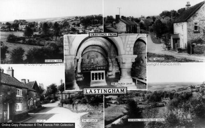 Photo of Lastingham, Composite c.1965