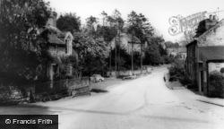 Lastingham, Fern Cottage And The Bridge c.1965