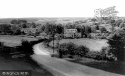 Lastingham, From Lyd Hill 1964
