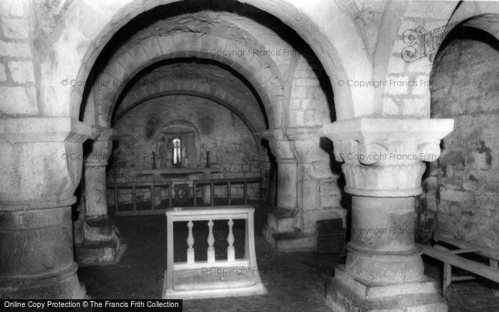 Photo of Lastingham, The Church Crypt c.1965