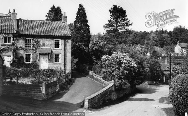 Photo of Lastingham, The Village 1964