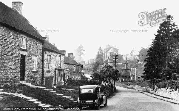 Photo of Lastingham, The Village c.1950