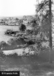 Lastingham, View From The Woods c.1965