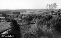 Lastingham, Village And Moors From Cross c.1965