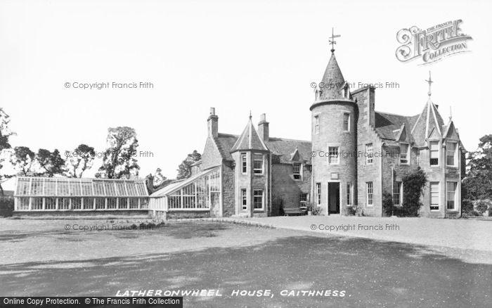 Photo of Latheronwheel, Latheronwheel House c.1930