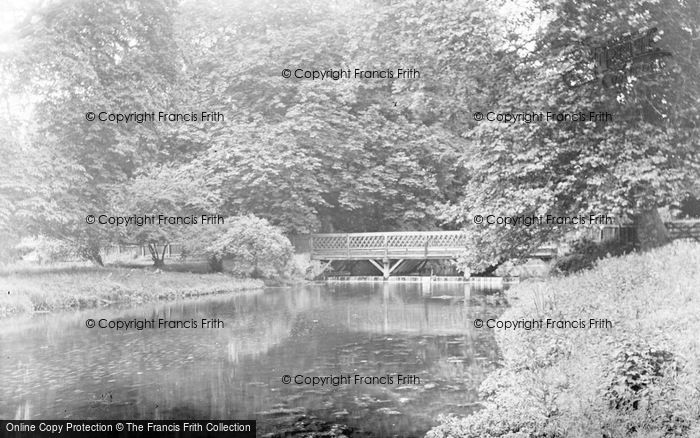 Photo of Latimer, The Chess River c.1955