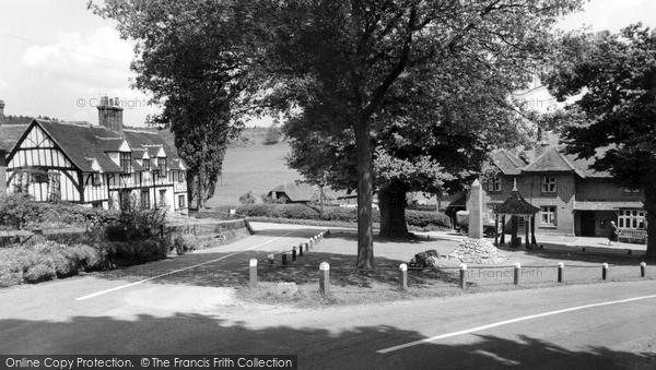 Photo of Latimer, The Village c.1955