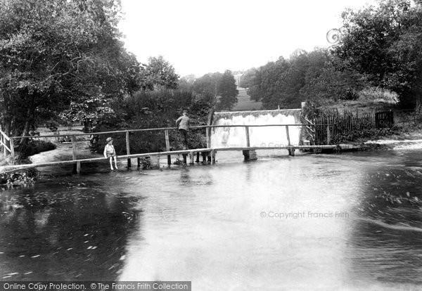 Photo of Latimer, The Water Splash 1897