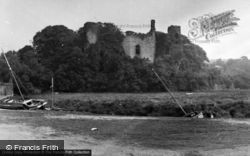 Laugharne, Castle 1953