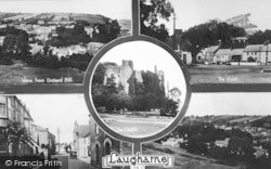 Laugharne, Composite c.1930