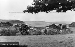 Laugharne, From Eynons Down c.1950